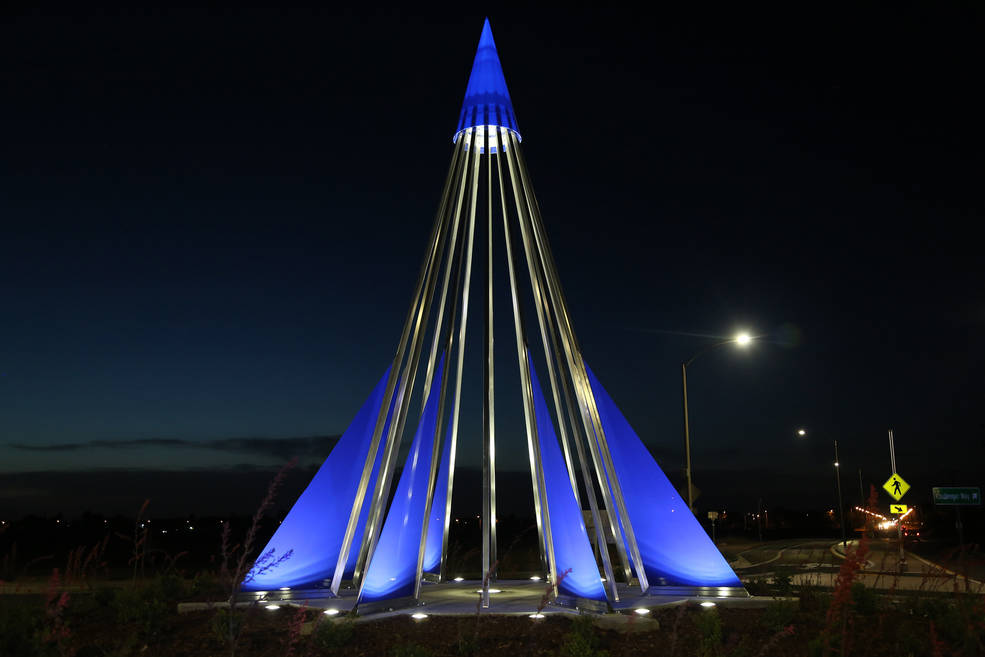 COLORADO SPACE NEWS- Challenger Crew Recognized With Monument