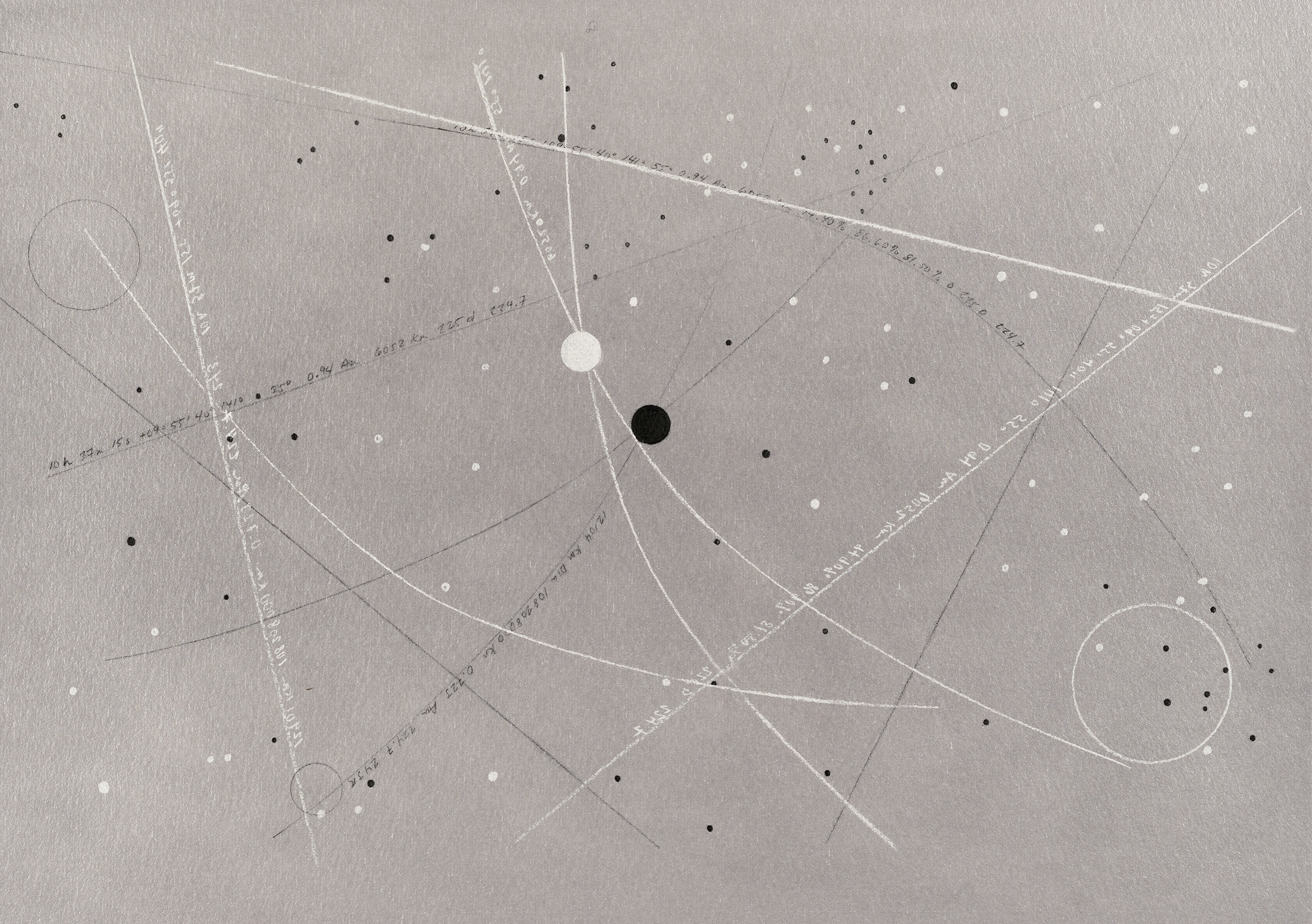 Venus- 12,104 km Dia  2019  Archival Pigment Print  Metallic Paper  11 x 14 inches  (27.9 x 35.5 cm)