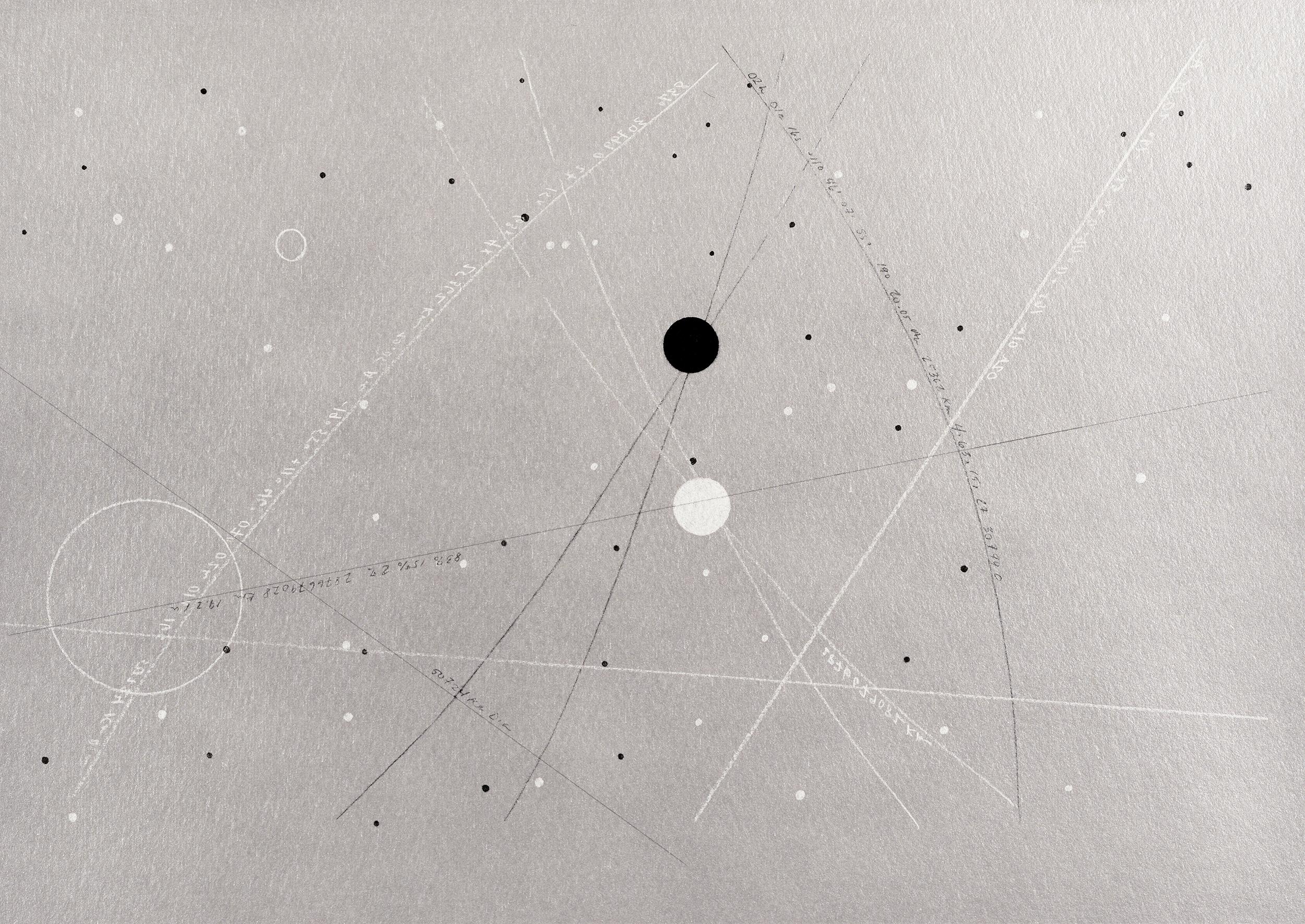 Uranus- 50,724 km Dia  2019  Archival Pigment Print  Metallic Paper  11 x 14 inches  (27.9 x 35.5 cm)