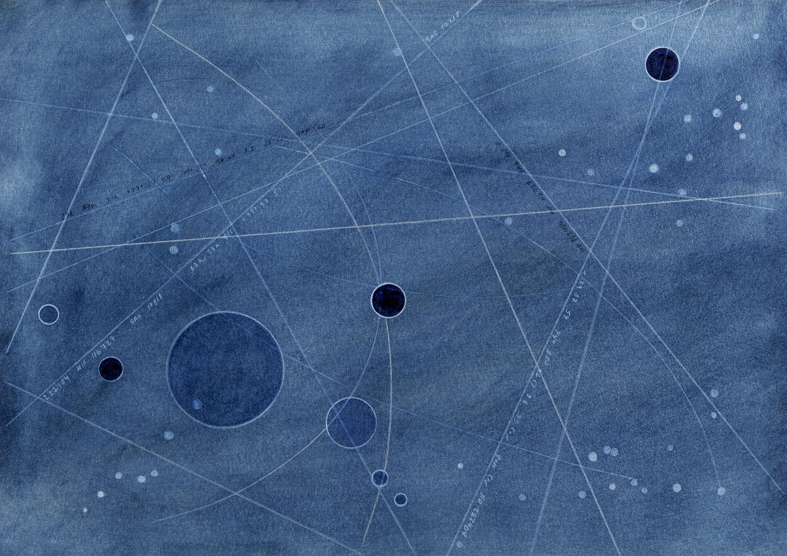 Errai Cepheus- 46 Light Years  2019  Archival Pigment Print  Metallic Paper  11 x 14 inches  (27.9 x 35.5 cm)