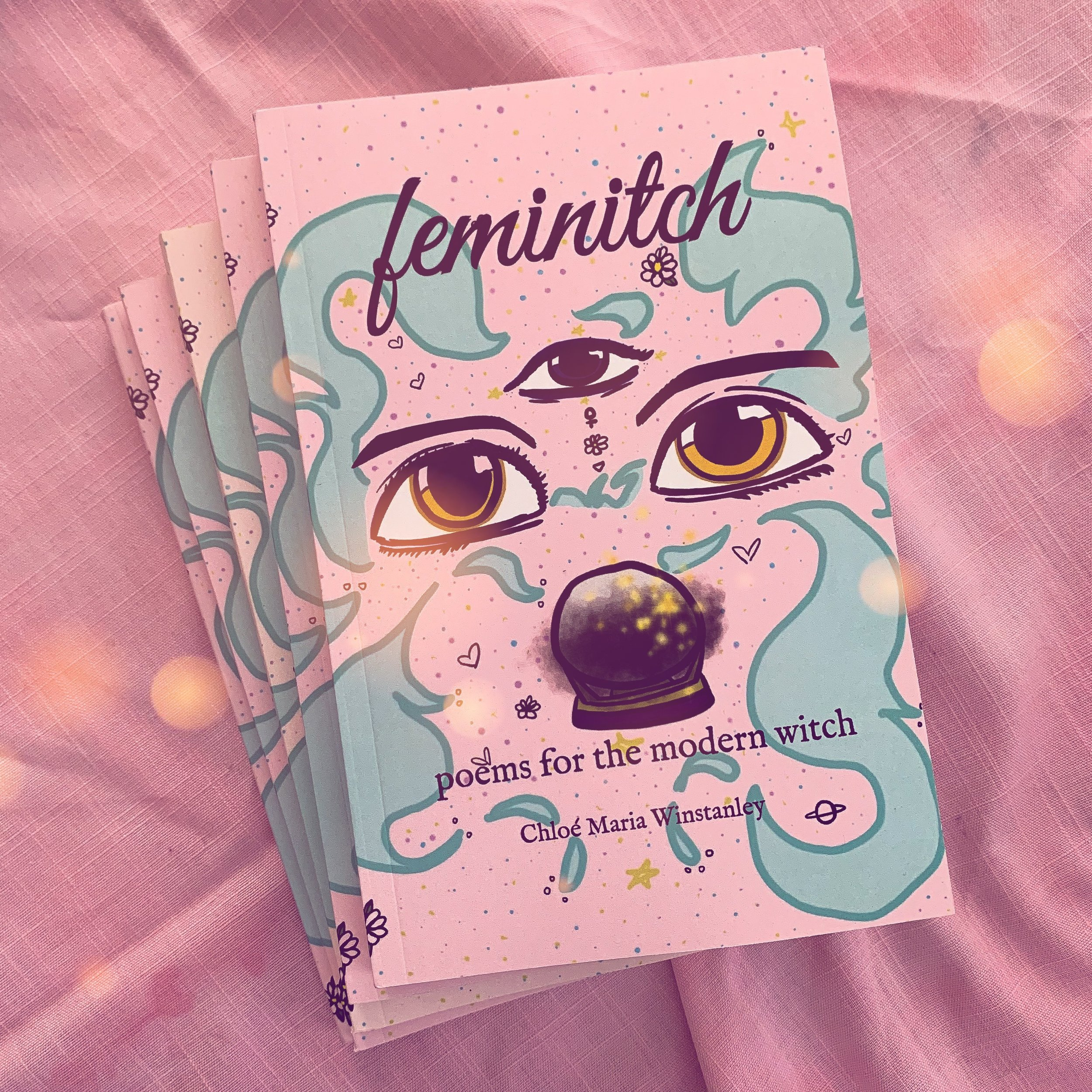 Feminitch Poems For The Modern Witch Witches N Pink