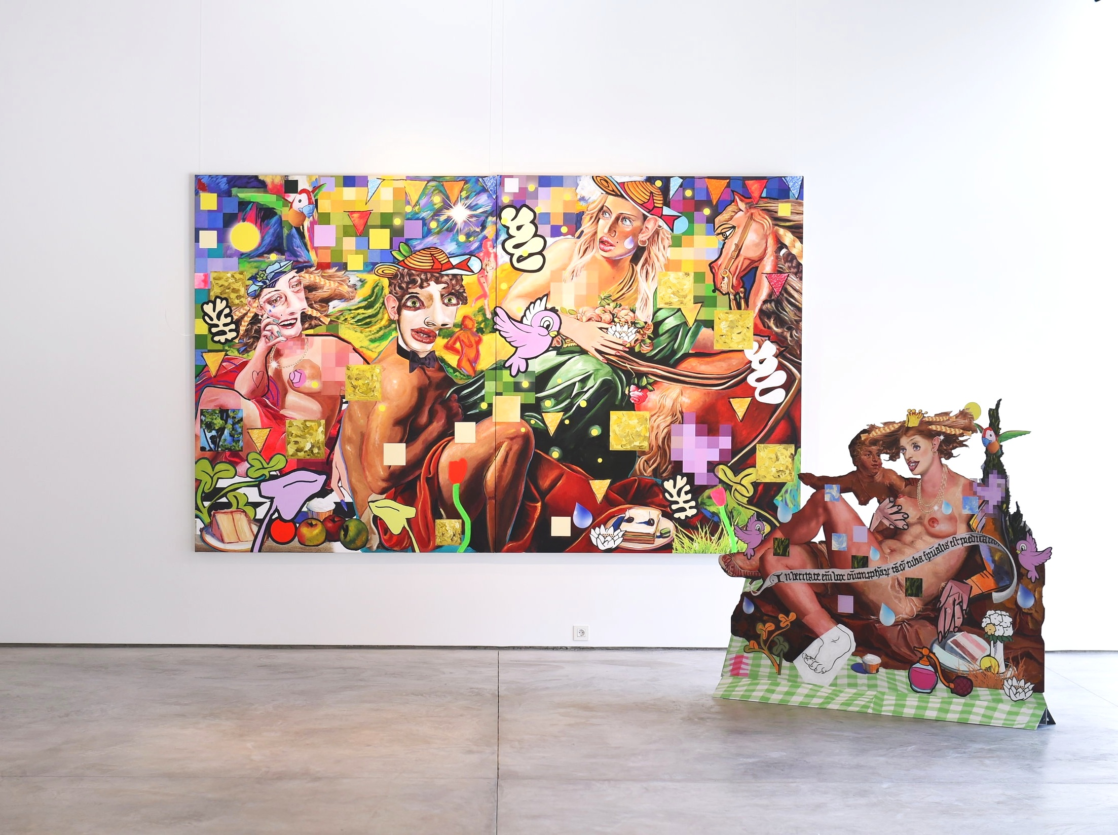 Allison Zuckerman for The One Thousand One Nights at Artual Gallery in Beirut, Labanon.