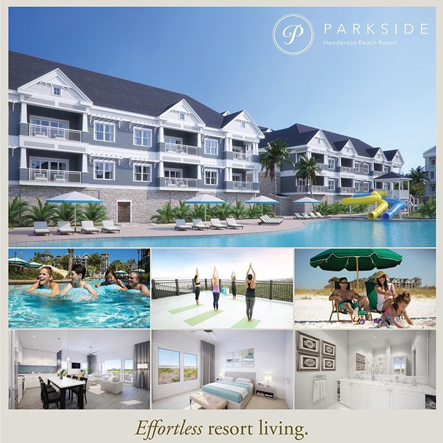 We are thrilled to share these great images of our current & exciting project Parkside at Henderson Beach Resort (@parksidedestin ),: the newest phase (still in pre-construction) at The Henderson A Salamander Beach & Spa Resort, The Henderson. @thehendersonfl @salamanderresort  Stay tuned for more progress posts, as we will be documenting and sharing throughout construction!