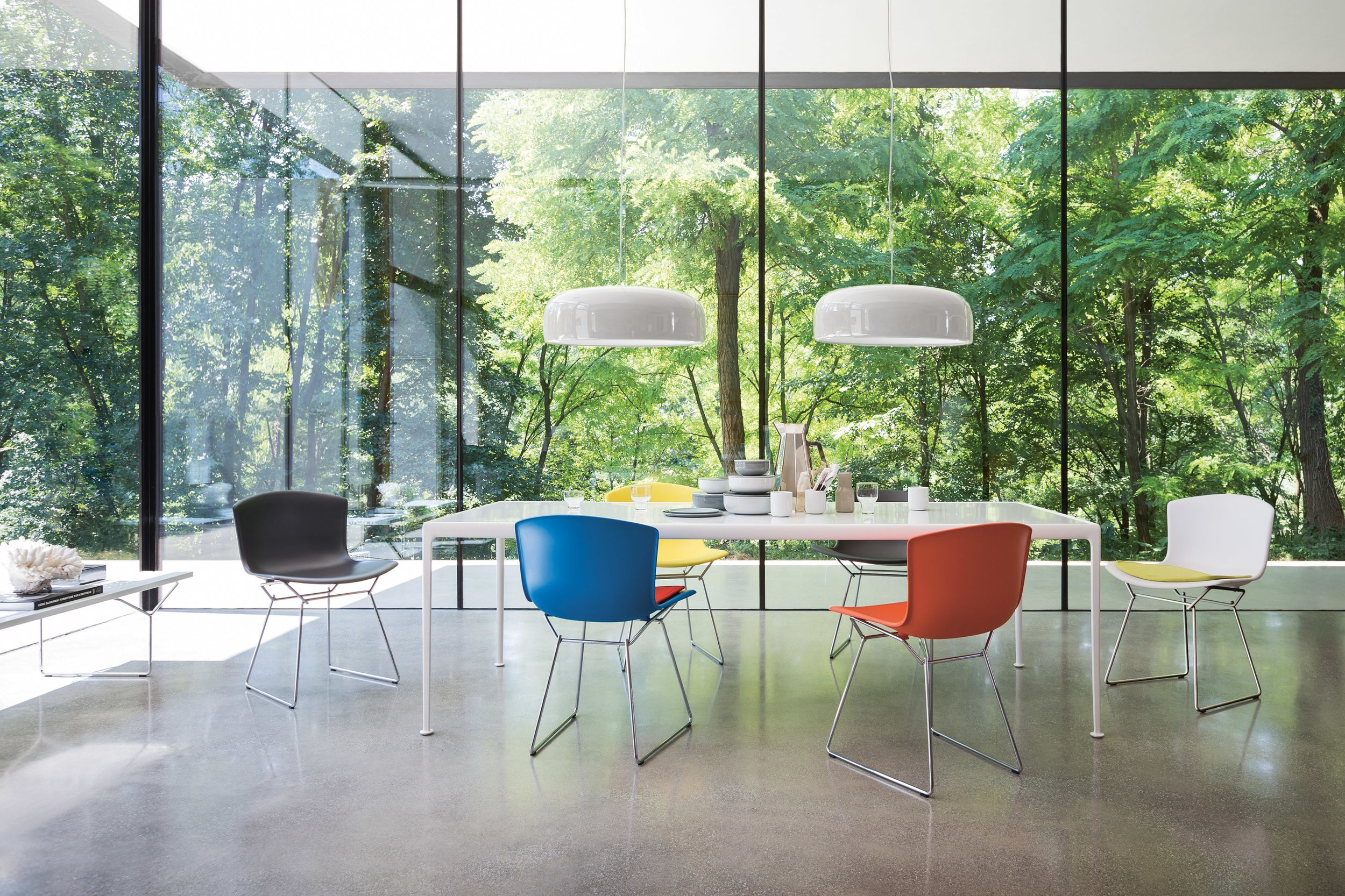 $ - Bertoia Molded Shell Side Chair