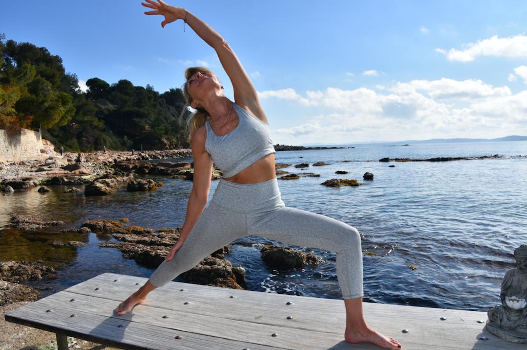 Etirements inspire du yogA, Cote d'azur