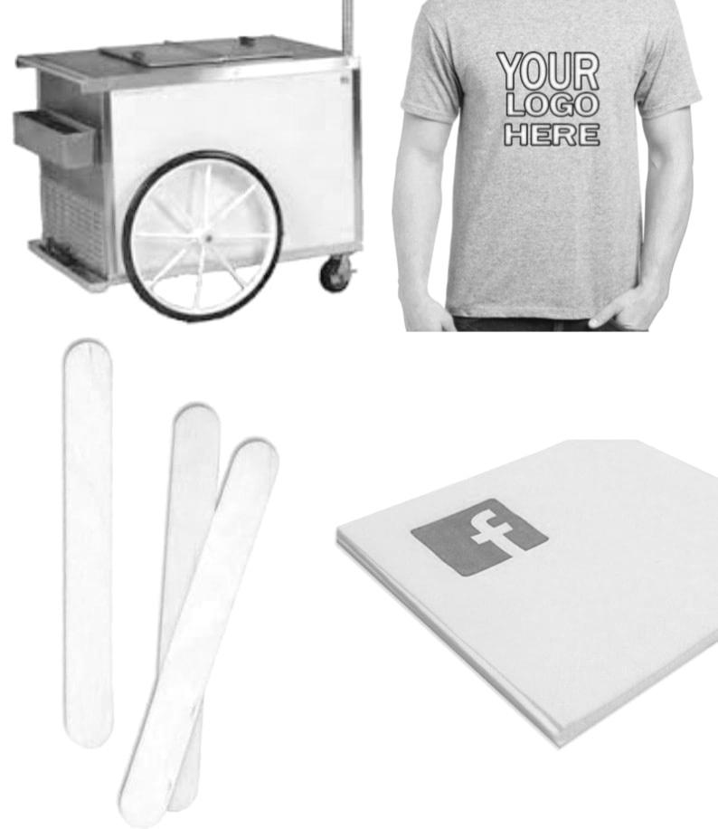 Social media, Sticks, and T-Shirts