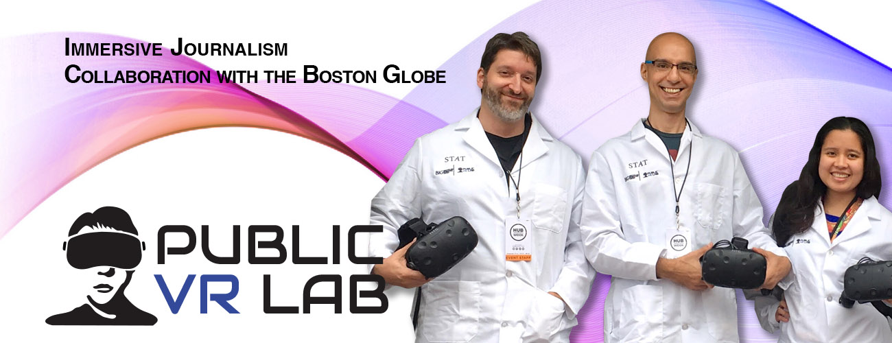 STAT News team at the Boston Glober