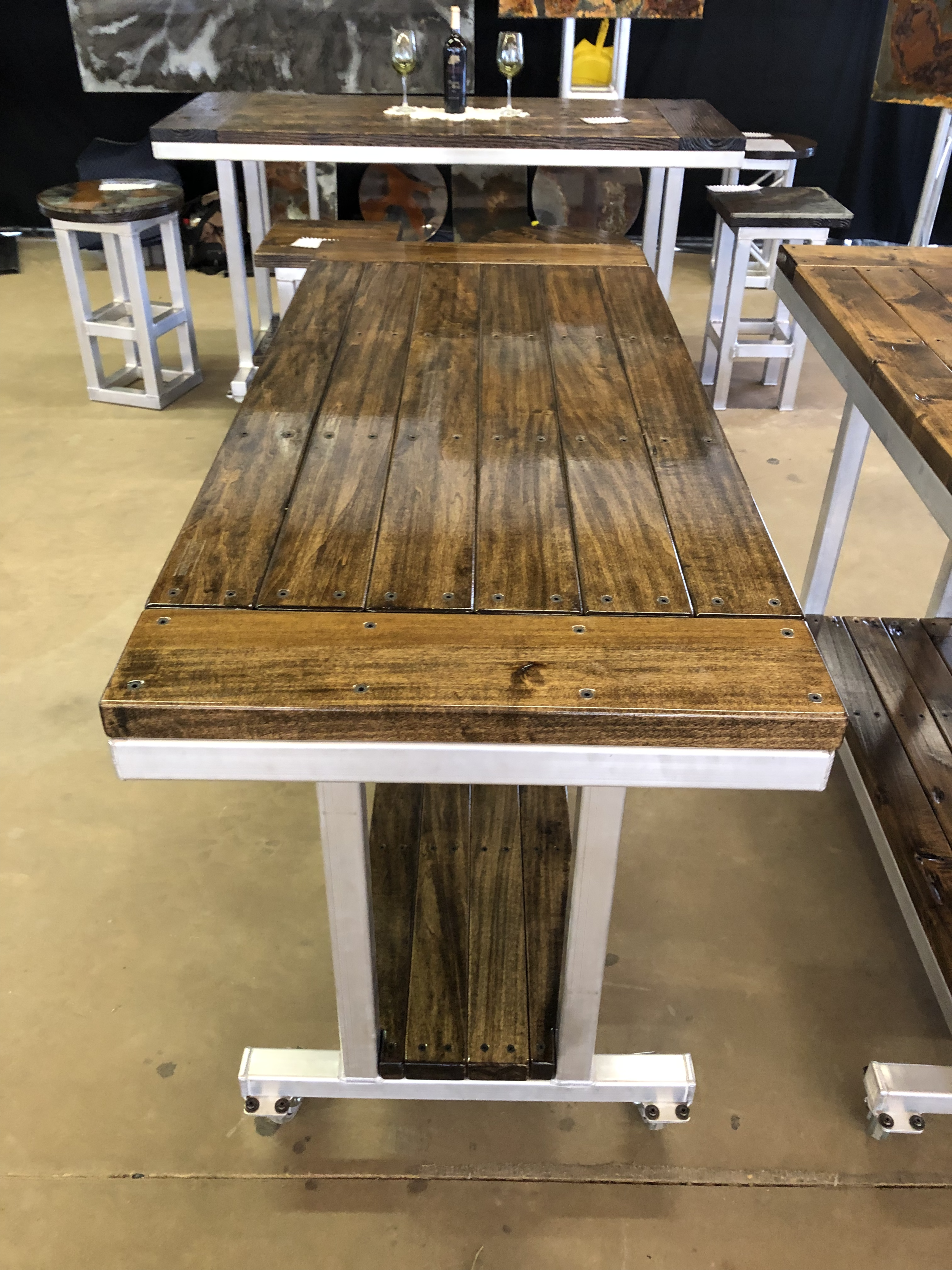 Poplar Planked Hardwood