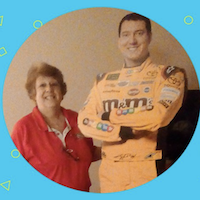 Join Kyle Busch at the Coca-Cola® 600 & Win a New Toyota® Camry®  Winner: Linda G. Hometown: Fond du Lac, WI
