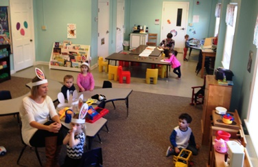 - Old Stone Preschool is a loving and positive environment where children can learn and grow through play, activities, and socializing with their peers and teachers. I look forward to every morning and the joys that the day is sure to bring with their smiling facesand their eagerness to discover the world around them. - Amy Bailey