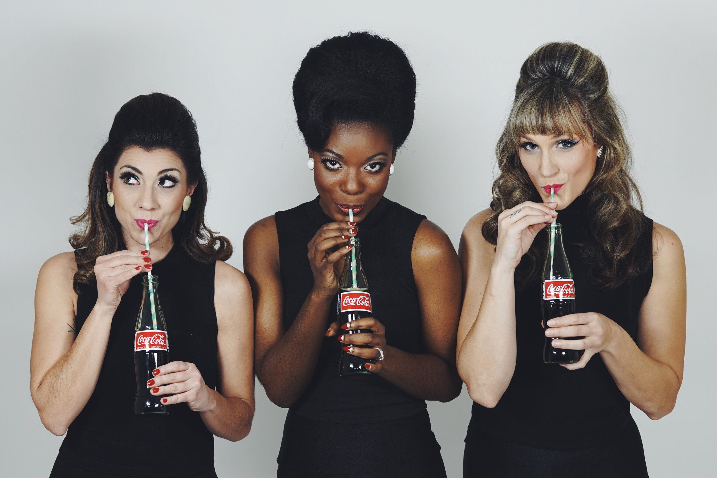 The Lovettes go better with Coke