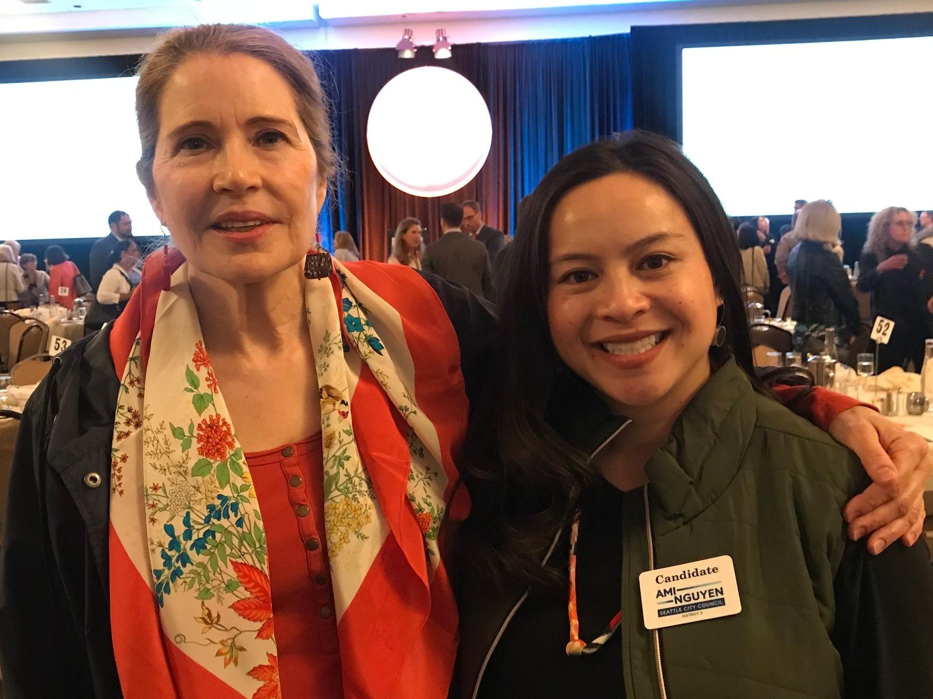 Cheryl Berenson  - Board of Directors, Secretary, Alliance for Gun Responsibility • Foundation Board Member, Washington State Policy Advocate (SPA) • National Council of Jewish Women.