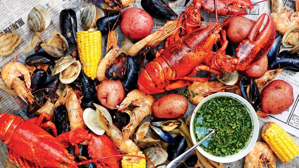 Rhode Island Lobster Boil