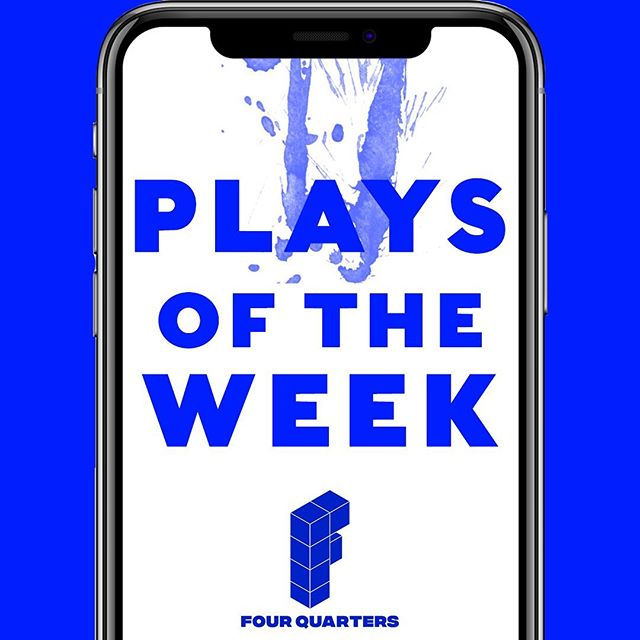 As promised, we got you covered. Here are our plays of the week.