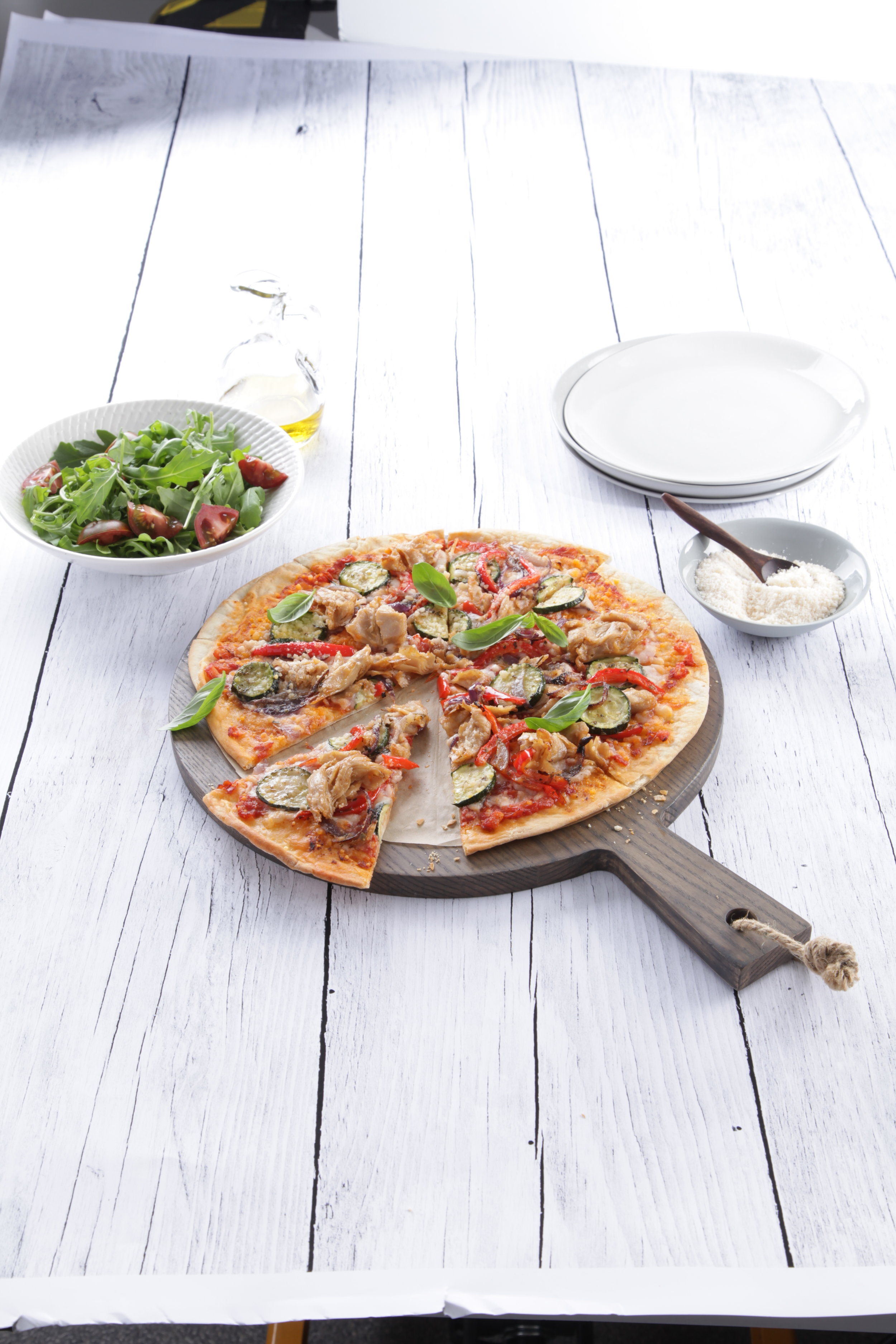 Simplot Australia's 100% Not Chicken Vegan Pizza