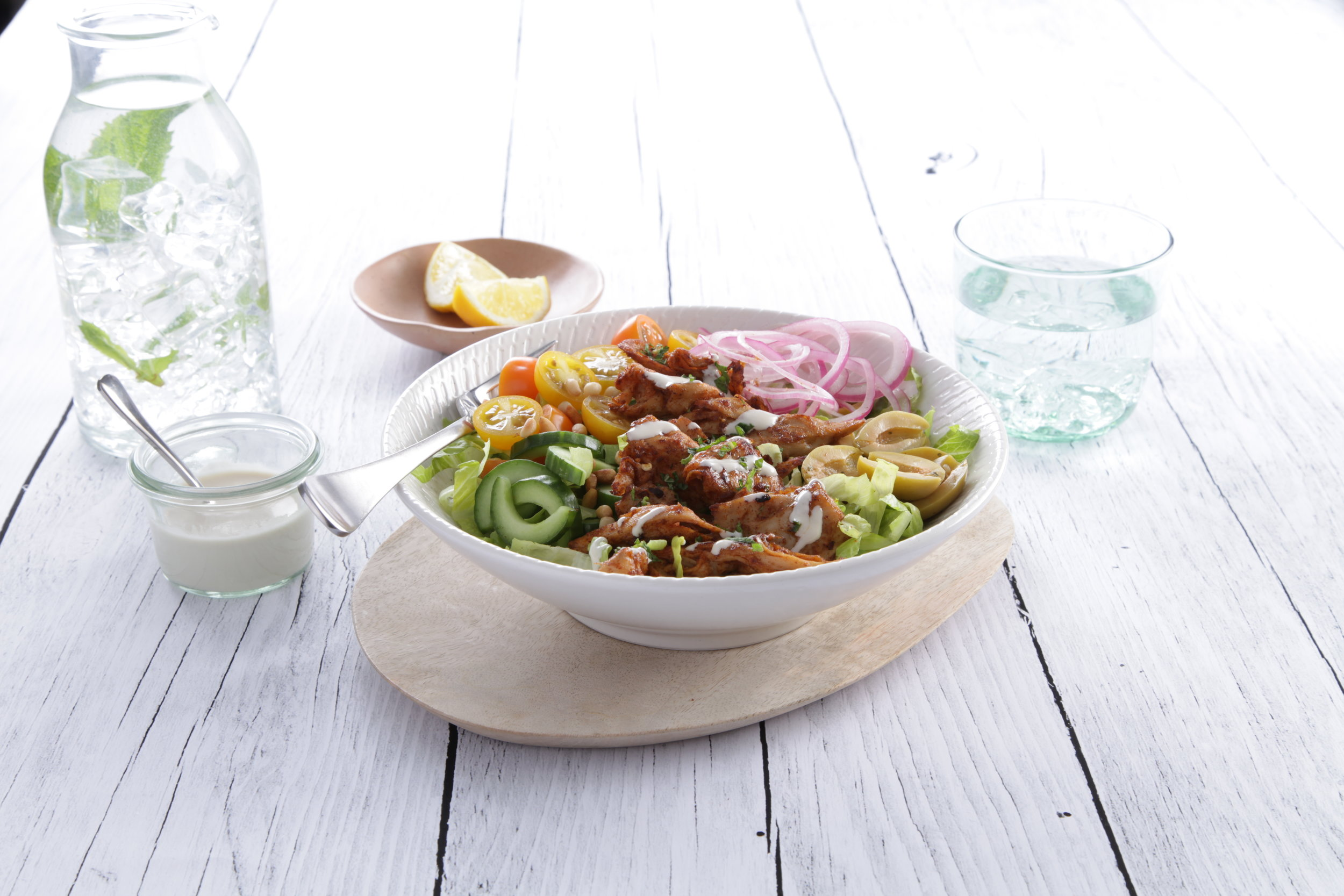 Simplot Australia's 100% Not Chicken Vegan Tahini Bowl