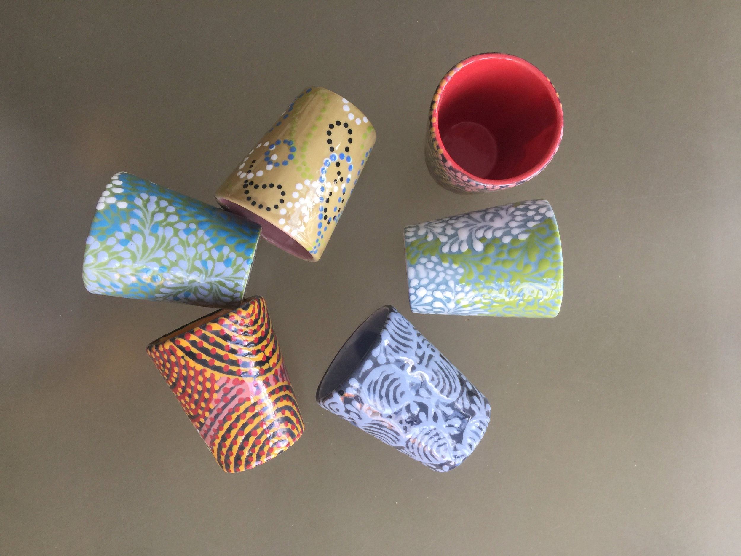 ASSORTMENT OF CUPS