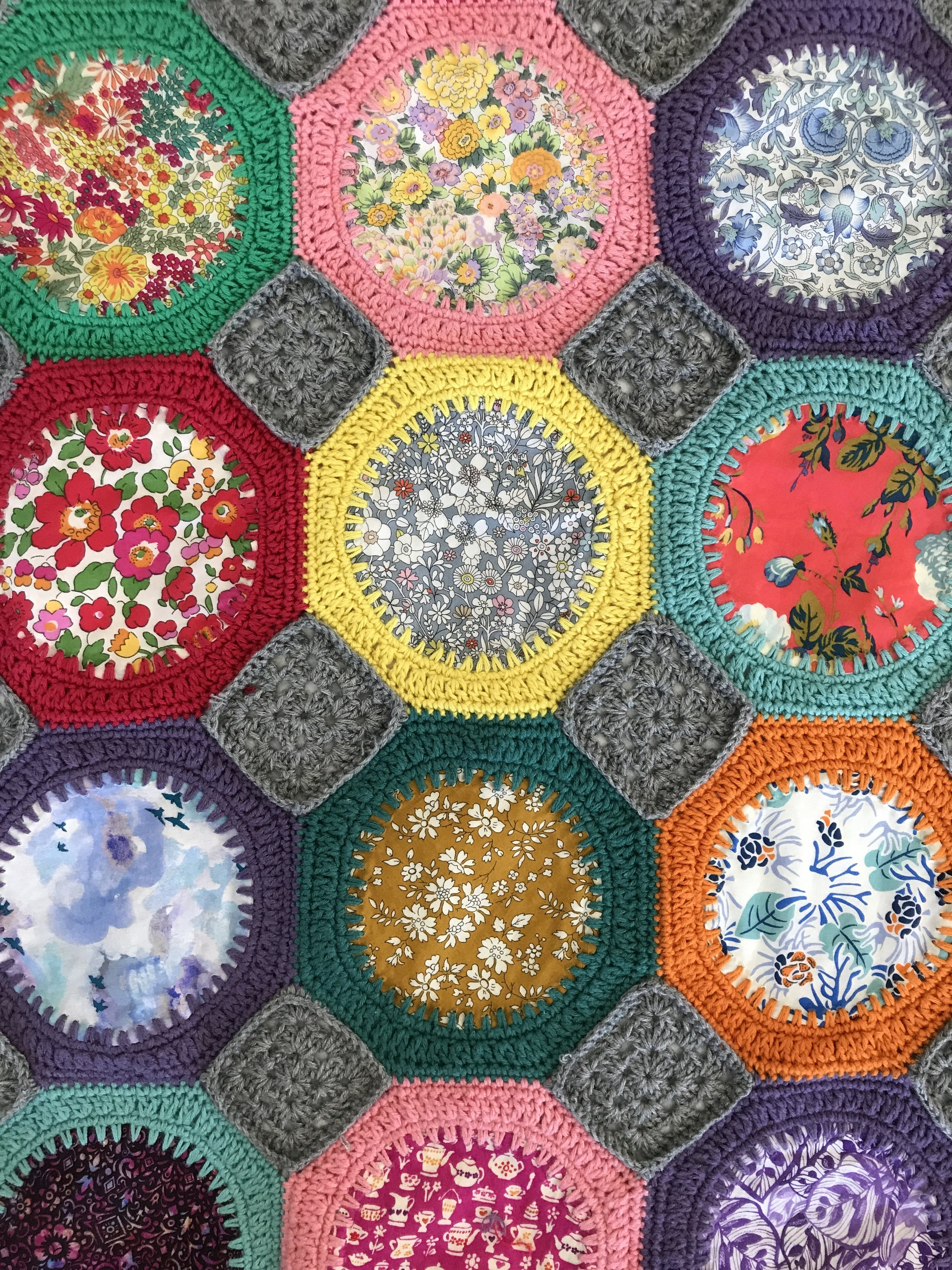 Liberty Crochet Circle Blanket