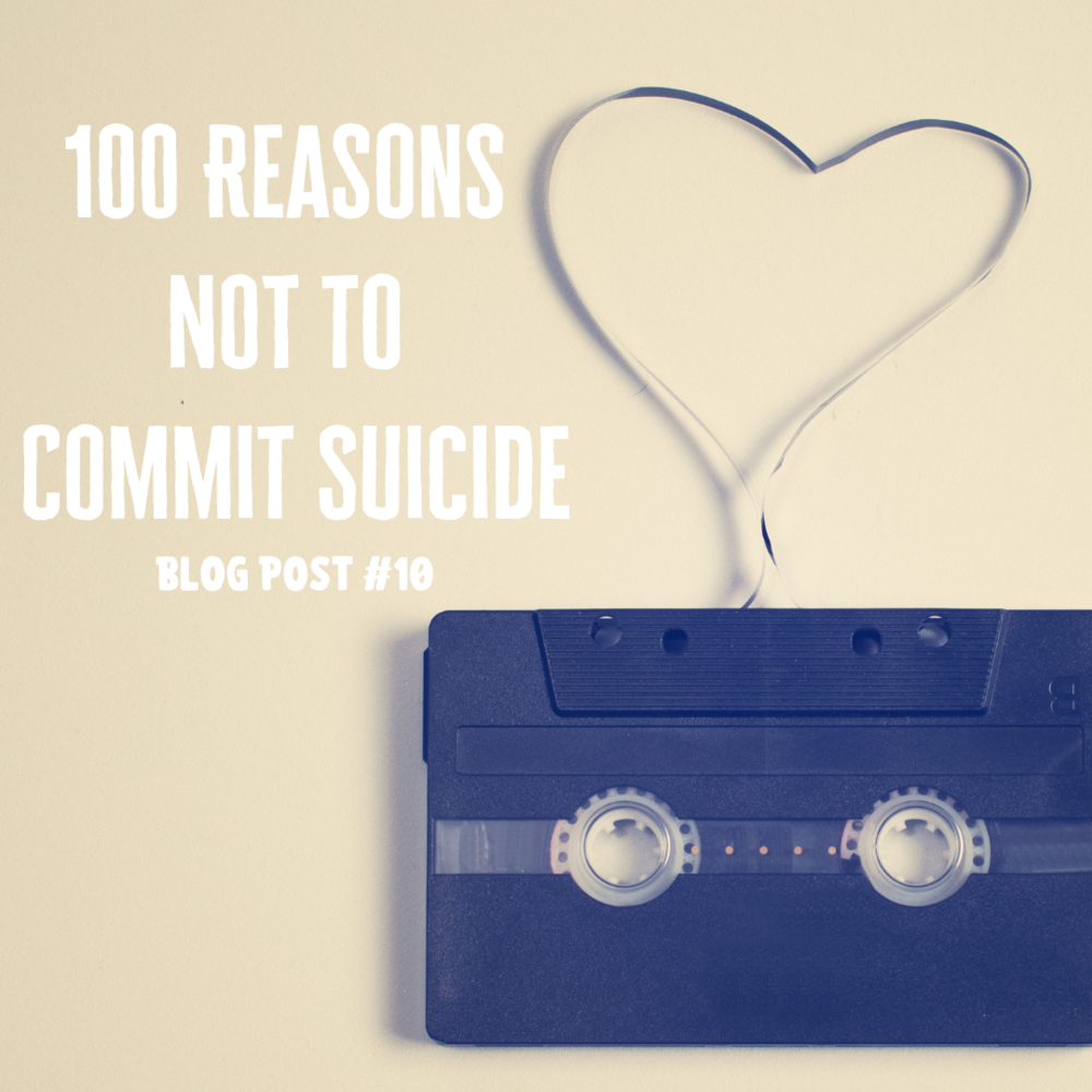 Shouldn suicide we commit why t Stop saying