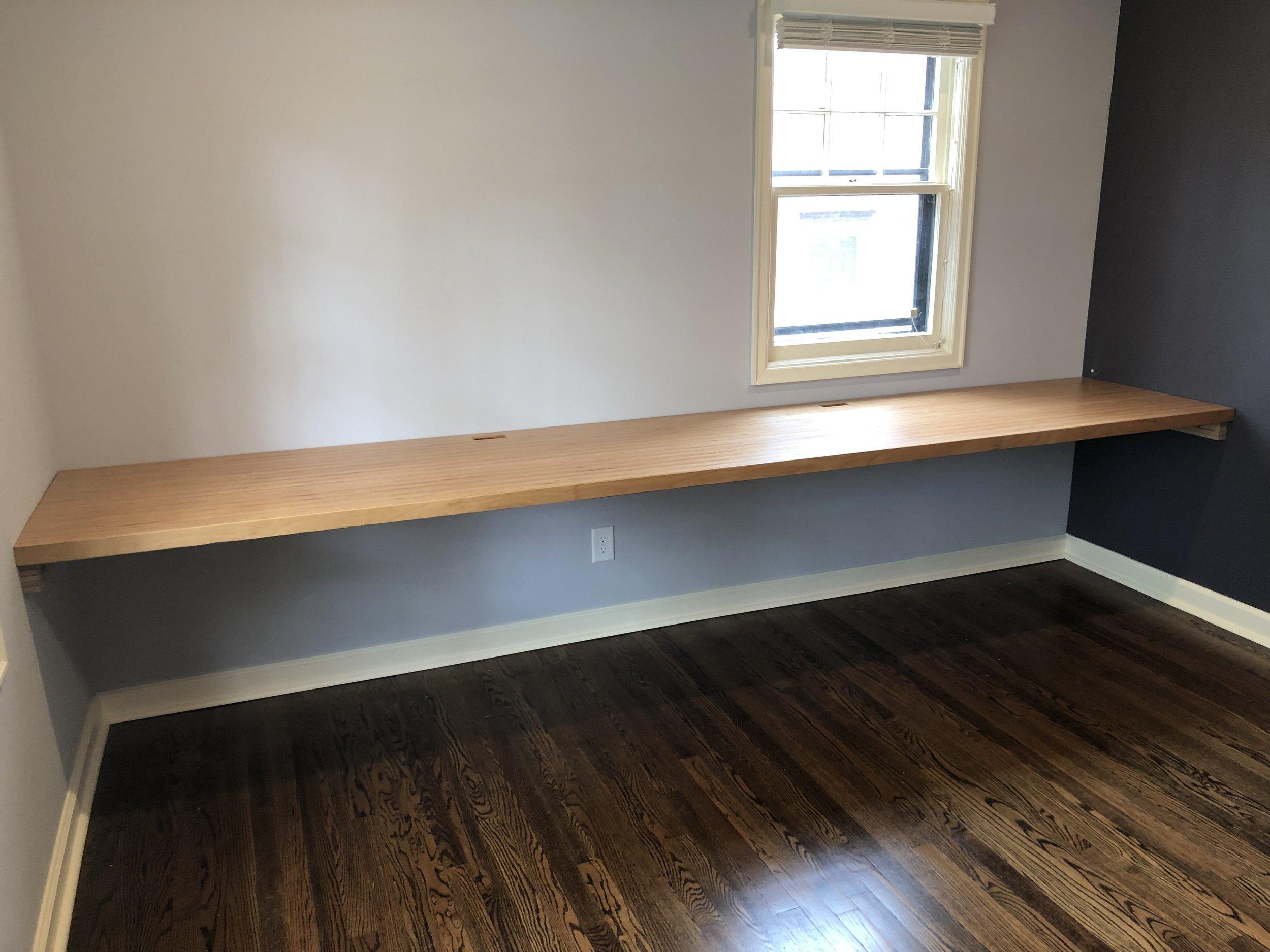 Custom Built in Desk