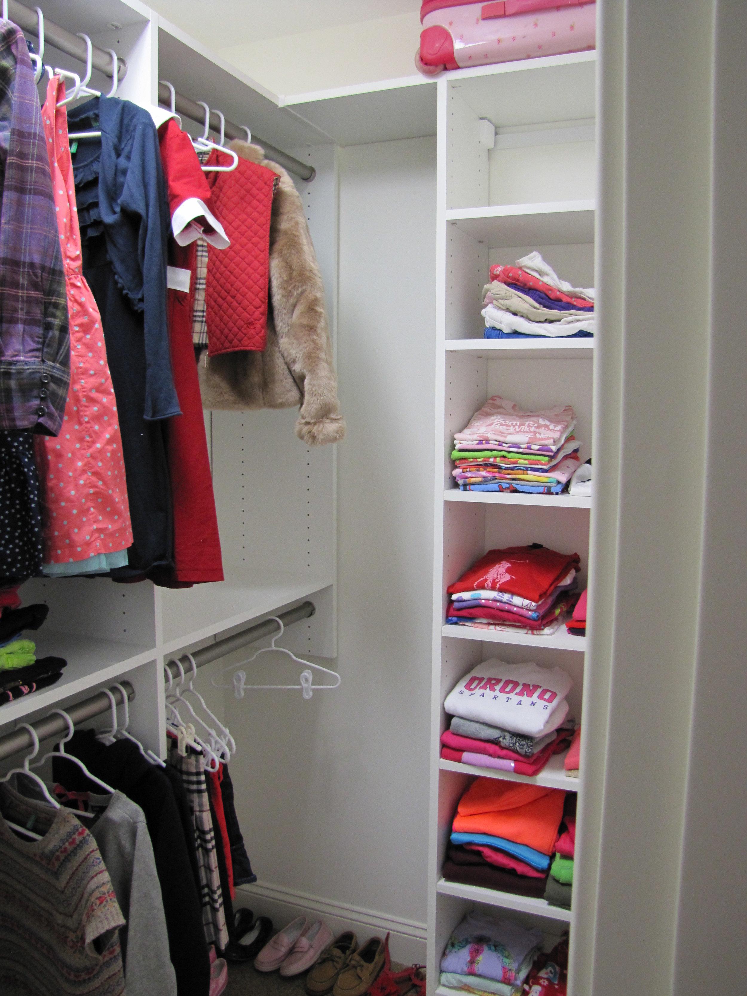 Child's Walk-in Closet