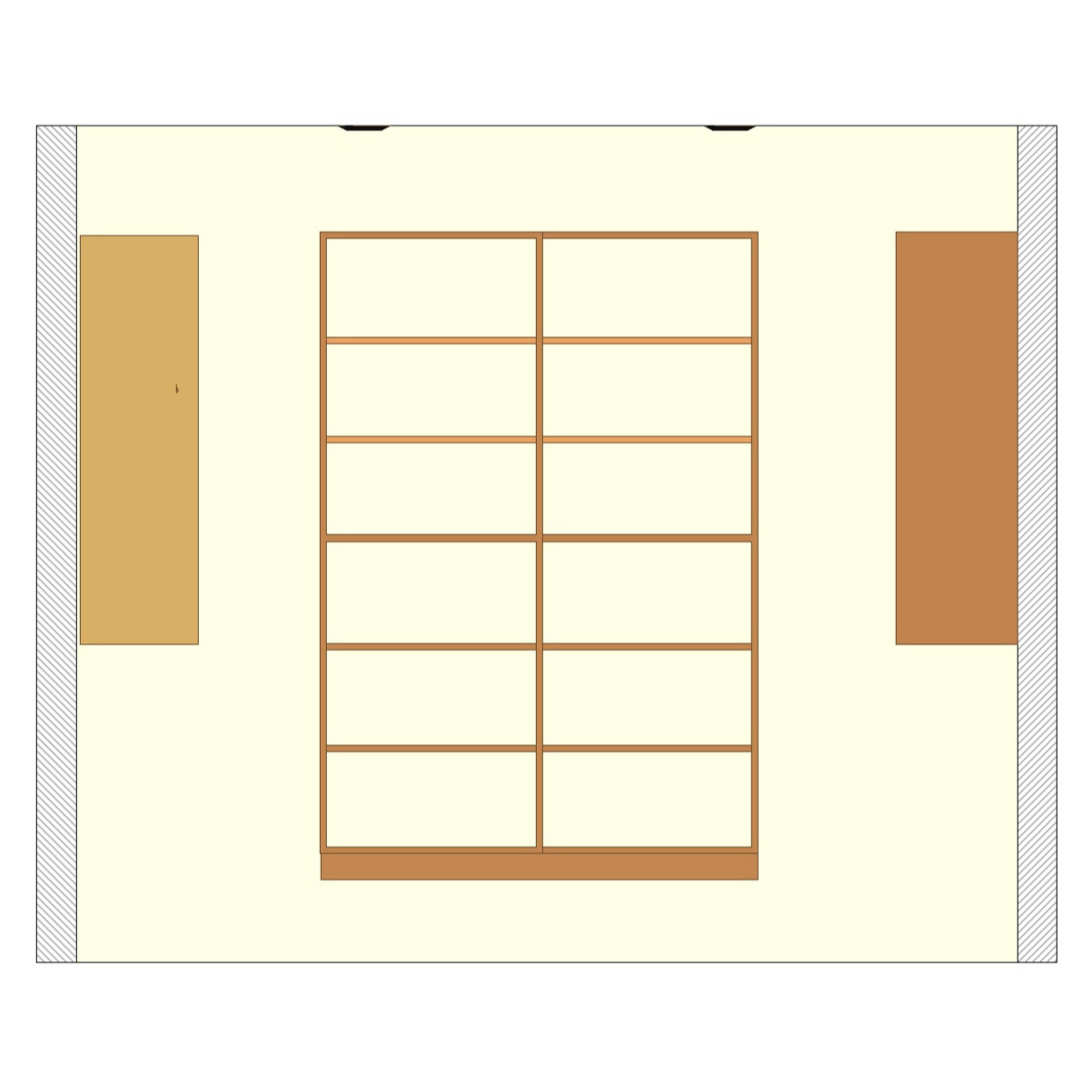 Double Shelving Unit - Basic Walk-In