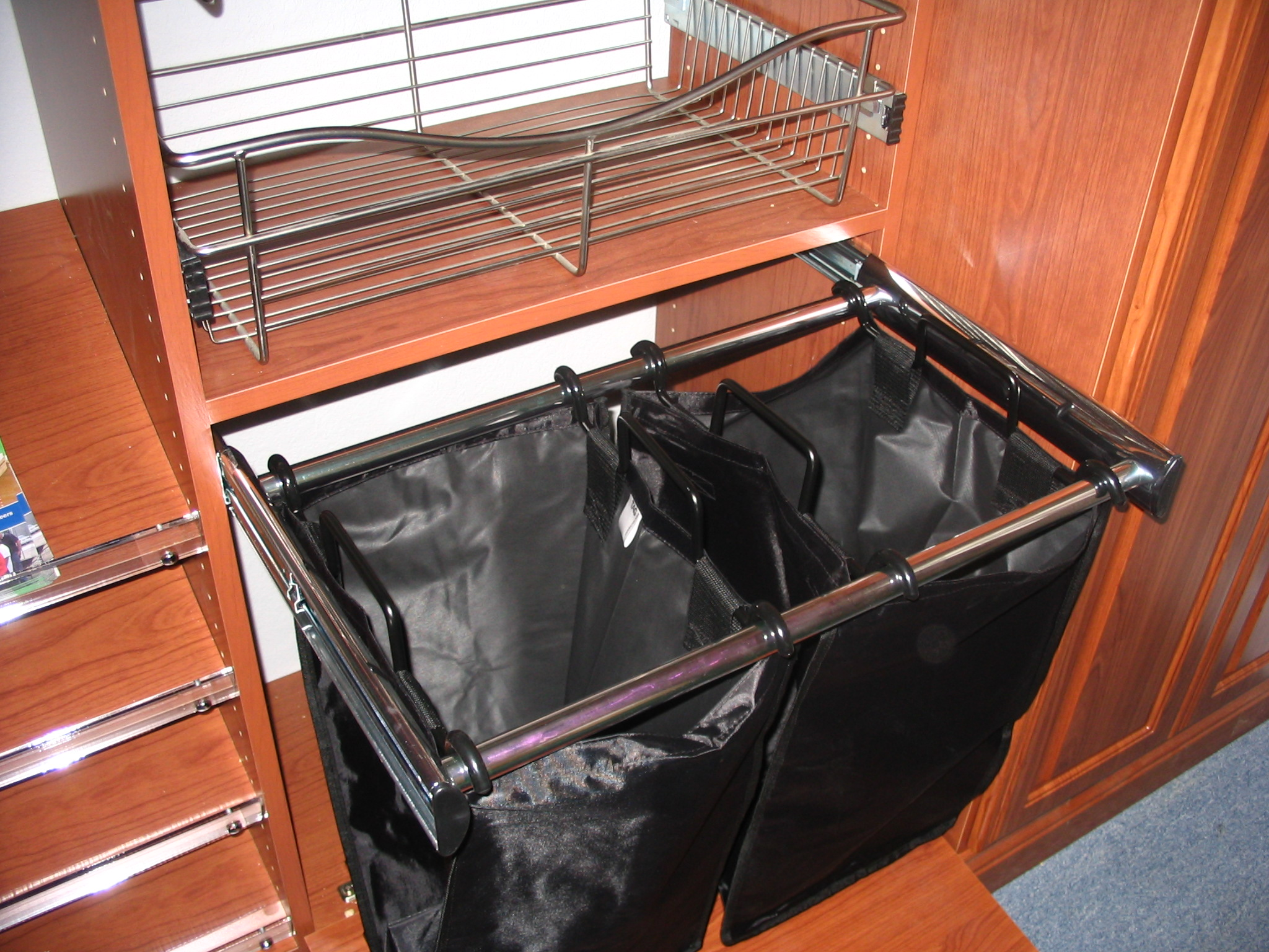 Copy of Double Pull-Out Hamper