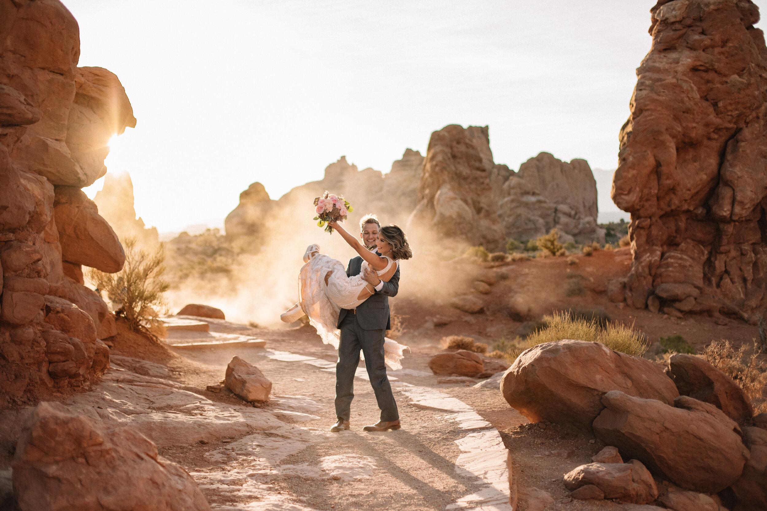 Moab Elopement Wedding Family Photographer Angela Hays Photography