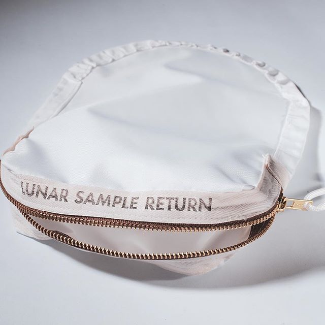 The only difference is yours hasn't been to the moon yet. // Swipe right to see the original Lunar Sample Return flown on Apollo 11  #apollo11 #lunarsample #spacestuff #50thanniversary #collectspace #space #nasa