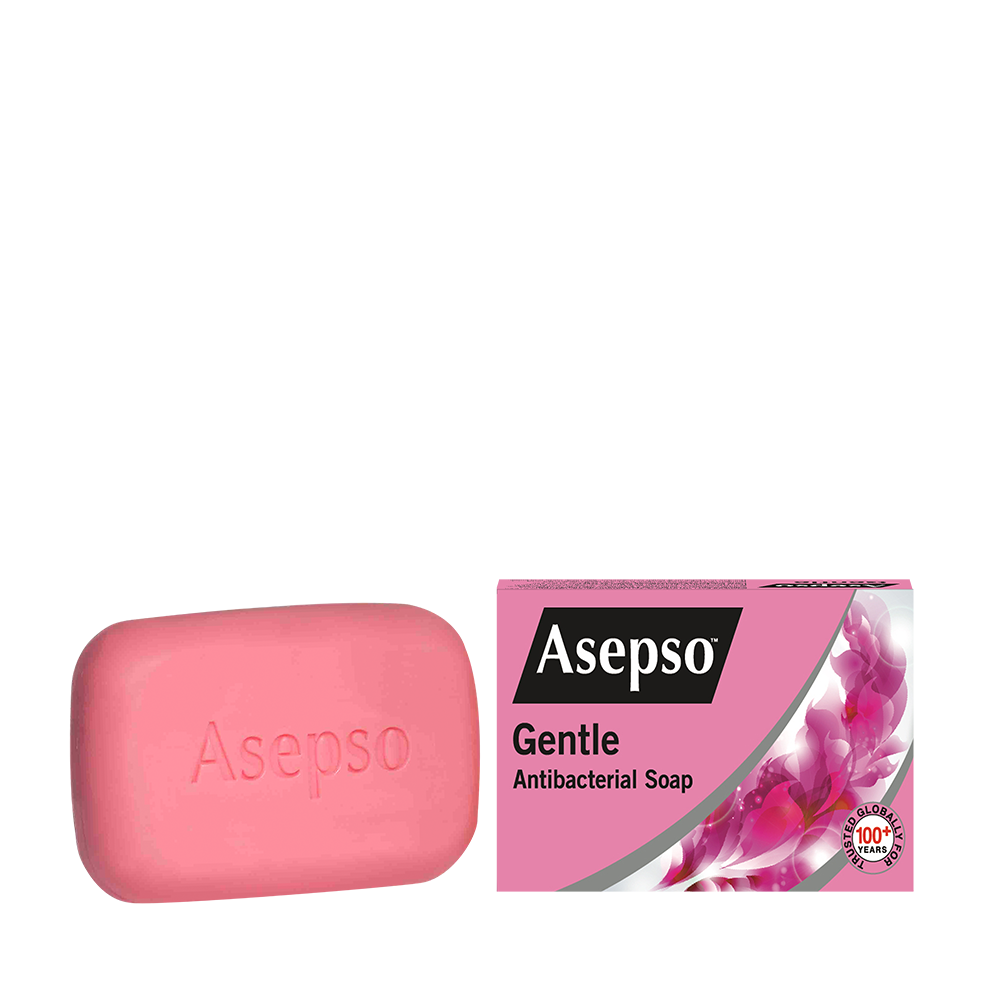 GENTLE - It contains a proven antibacterial and moisturising formula that is gentle on sensitive skin.Available in 80G