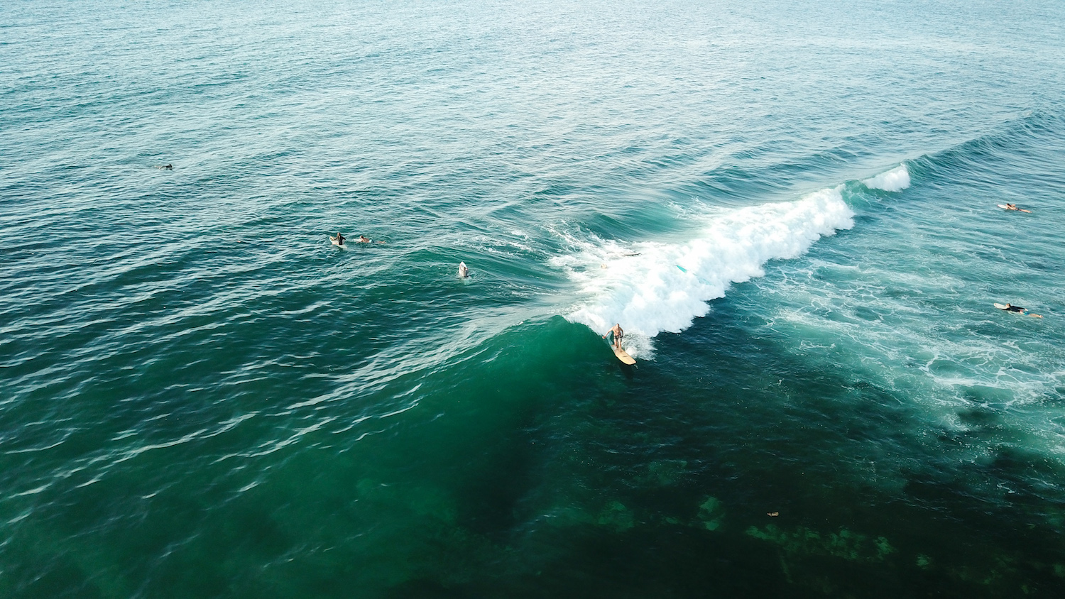 Close to good surf waves -