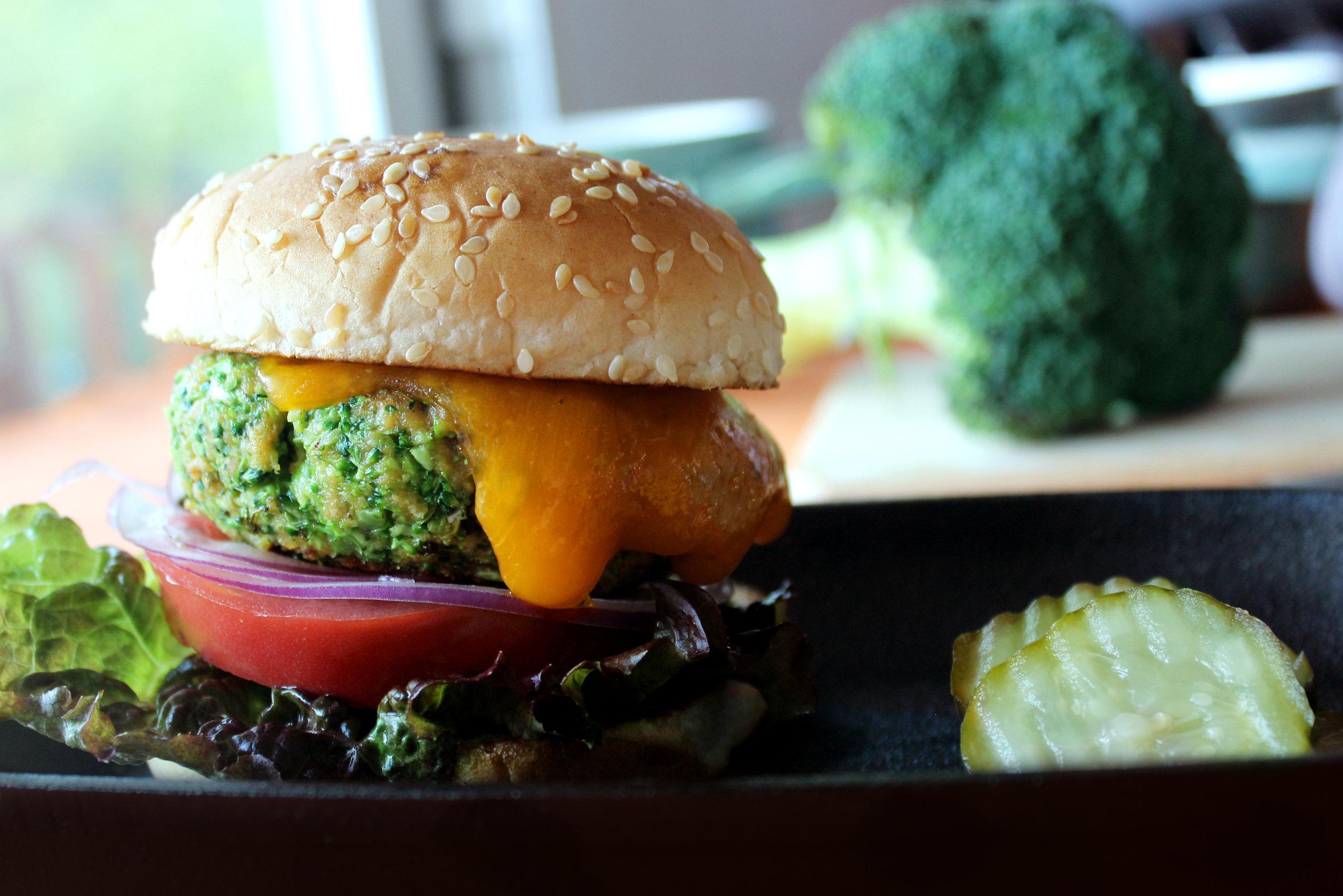 'Adda Veggie Broccoli Burger
