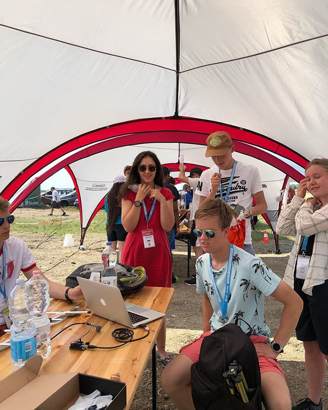 After searching one hour for our CanSat after the rocket launch on a field with very hot weather and mostly working on tomorrows final presentation. We finally made it through the day!  We wish all the teams the best of luck with tomorrows presentation🚀🚀