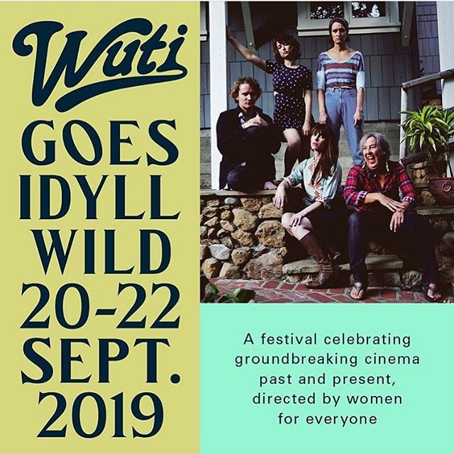 We're coming for you Idyllwild... and excited to be the opening film for the inaugural WUTI GOES IDYLLWILD Festival. The festival kicks off this Friday and runs all weekend in Idyllwild, California. It's three days of rediscovered classics, vital new voices, expert panels, community and carousing featuring Emma Roberts, Karen O, Alia Shawkat, Janicza Bravo, Alex Prager, Kimberly Peirce, Penelope Spheeris, Tia Carrere, Diane Warren, Hailey Benton Gates, Barbara Kopple, and of course, us/ @motherslittlehelpersfilm . Hope to see you there. #idyllwild #motherslittlehelpersfilm #womenundertheinfluence #wutigoesidyllwild #filmfatales #kestrinpantera #breedawool #milanavayntrub #filmmaker #rustictheateridyllwild #rviplounge