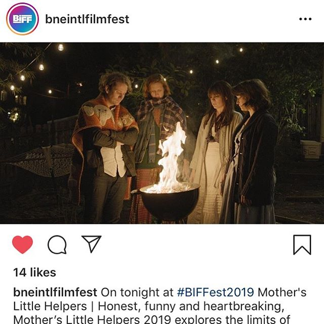 SO much love to @bneintlfilmfest / Brisbane International for the phenomenal support for our film- we love you & so greatly appreciate the social shoutouts. PUMPED for our next screening in Oz, October 13 (Sunday) 12pm, tix here: https://biff.com.au/event/mothers-little-helpers/