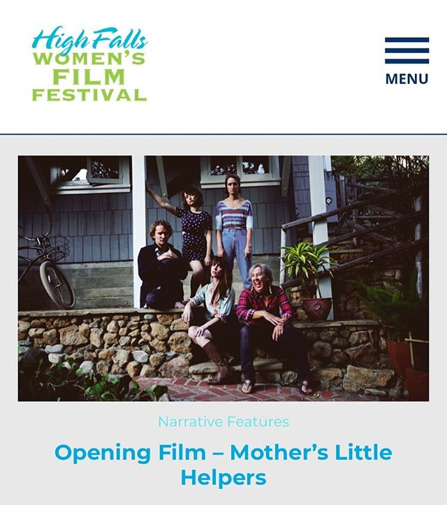 Thrilled to be the opening night film of @highfallswomensff next Thursday, kicking off both the festival and Opening Night party!