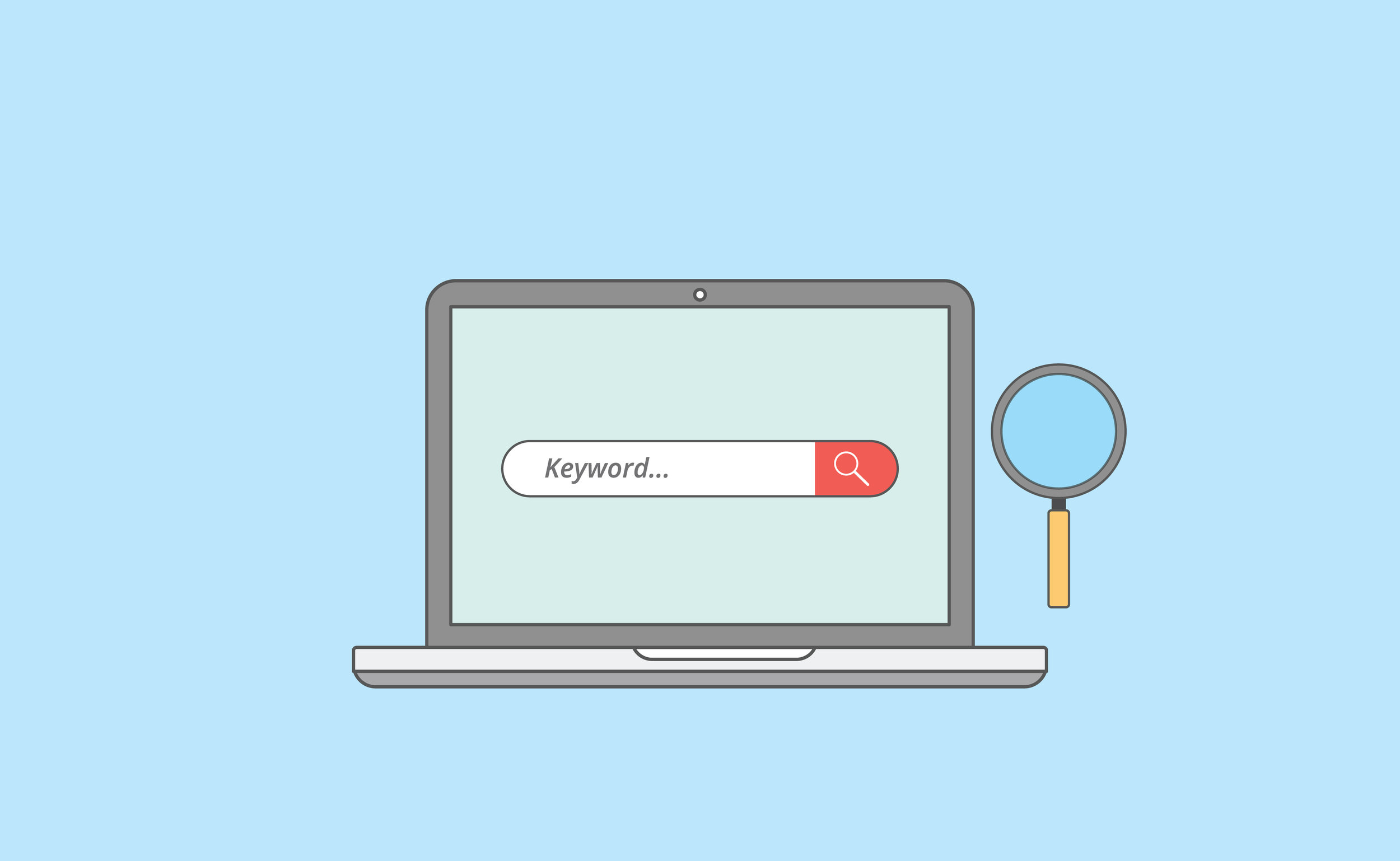 The best places to do keyword research? Try searching on Google and looking for the suggested searches or use Google Keyword Planner Tool.