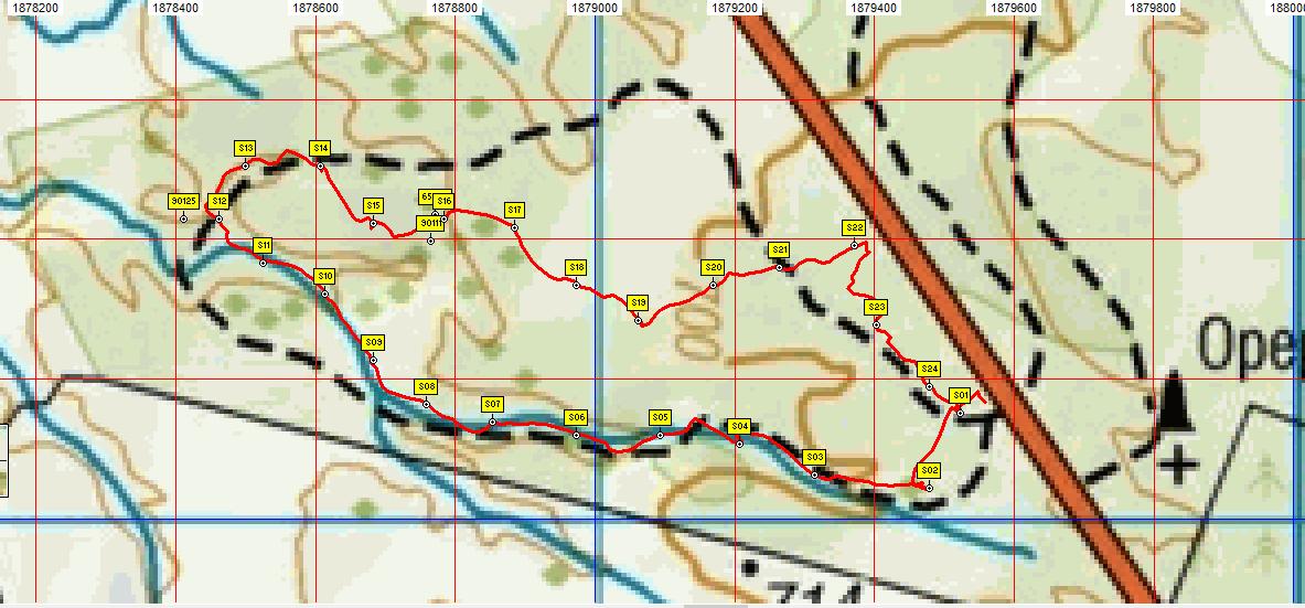 Opepe South Tracks