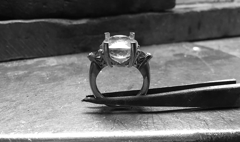 Craftsmanship - With your rare stone of choice let me craft you a one of a kind jewel that ressembles you.