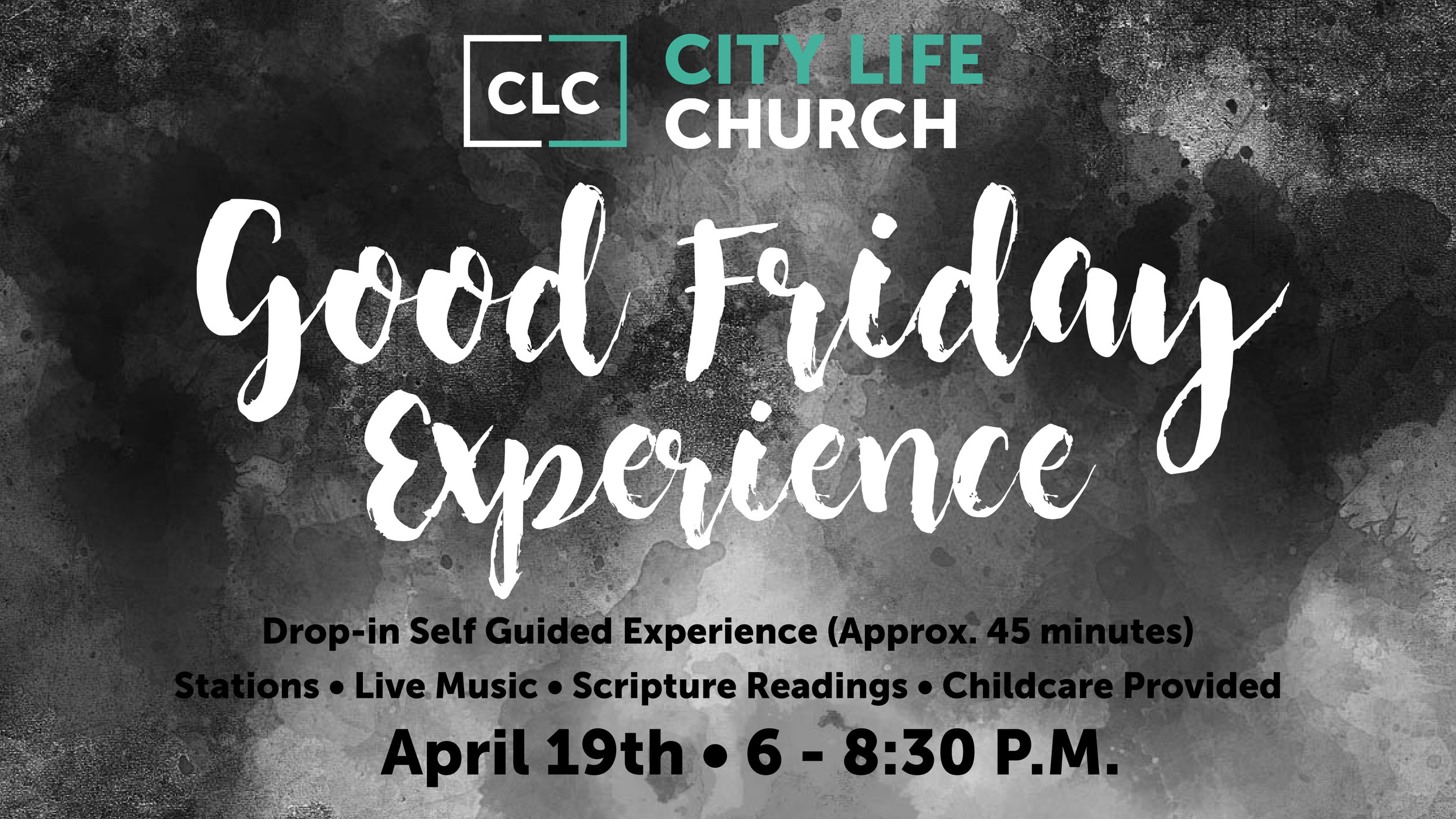 Come join us for a self-guided experience through the story of the cross.