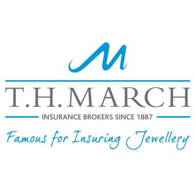 """T H March - """"Acknowledged experts with a trusted reputation. No-one understands jewellery insurance better than we do. March Plus Insurance will protect your precious jewellery.""""T.H. March are our recommended insurance brokers. Established in 1887, they are one of the leading UK firms that have a wealth of experience of working with the jewellery industry. They are recognised as reputable, expert insurers."""