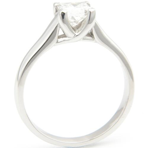 Platinum Tiffany Kiss Style Engagement Ring.jpg