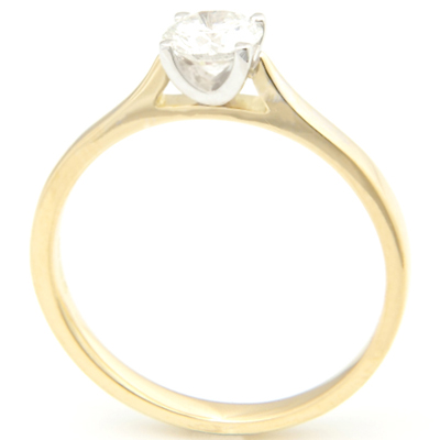 18ct Yellow and White Gold Solitaire Engagement Ring 2.jpg