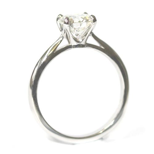 Platinum Round Brilliant Cut Solitaire Engagement Ring.jpg
