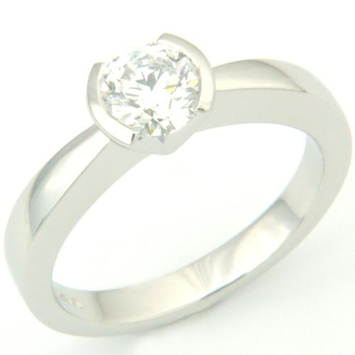 Contemporary Platinum Solitaire Diamond Engagement Ring.jpg