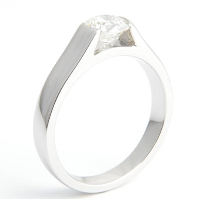 Semi Rub Set Tension Style Engagement Ring 2.jpg