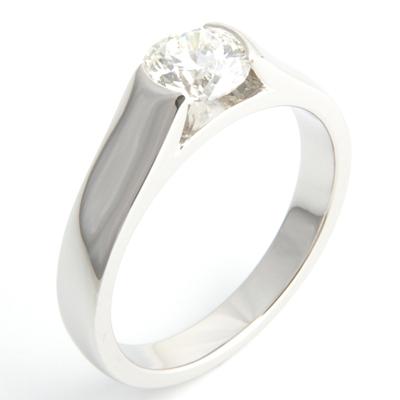 Semi Rub Set Tension Style Engagement Ring 1.jpg