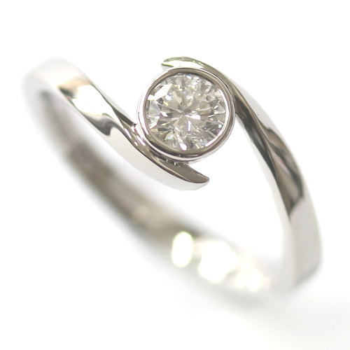 Palladium Twist Solitaire Diamond Engagement Ring.jpg