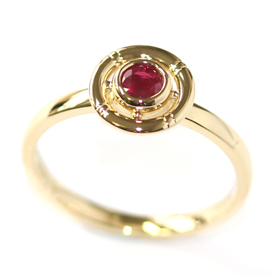 Yellow Gold Ruby Life-Ring Engagement Ring 2.jpg