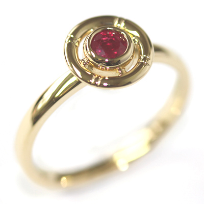 Yellow Gold Ruby Life-Ring Engagement Ring 4.jpg